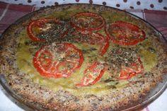 Blog Ambiente de Luz: Torta de arroz com ervilha
