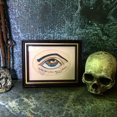 A personal favorite from my Etsy shop https://www.etsy.com/listing/398920503/folk-art-mixed-media-painting-eye-robert