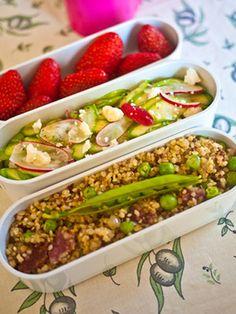 Sesame Beef and Vegetable Bento - Bento Lunch - Redbook