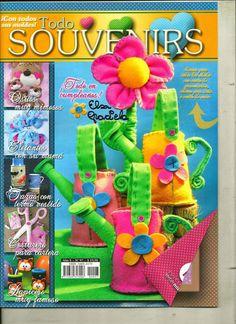Revistas de manualidades gratis: souvenirs
