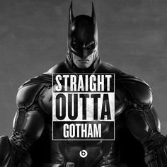 Batman Straight Outta Gotham