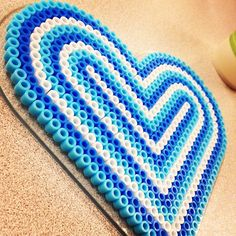 Perler bead heart by cafro528