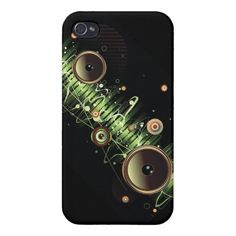 TBA !! Cool speakers Iphone Cover iPhone 4/4S Case   repinned by www.drukwerkdeal.nl
