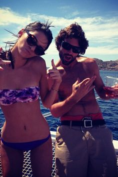 The Kardashian and Jenner family are vacationing in Greece and sharing photos left and right. Kendall Jenner posted a pic with her brother Brody Jenner, the newest cast member on Keeping Up with the Kardashians, on April 29, 2013, writing: We on a boat! @Nenna Ross.