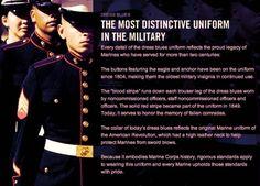 The Most Distinctive Uniform on the Military - USMC Dress Blues Once A Marine, Marine Mom, Us Marine Corps, Marine Life, Usmc Dress Blues, Marine Quotes, Usmc Love, The Few The Proud, Marines Girlfriend