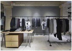 Christian Halleröd design Christian Grey, Retail Design, Visual Merchandising, Wardrobe Rack, Shops, Furniture, Home Decor, Homemade Home Decor, Tents