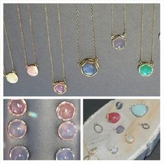 It's #SapphireSaturday at Oster Jewelers! All pieces shown are from Samantha Louise Jewelry.
