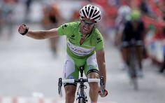 Dani Moreno, etapa y liderato 9ª etapa Vuelta'2013 !