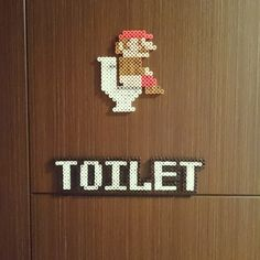 Mario Bross on Toilet