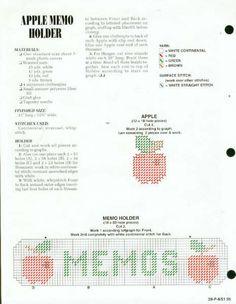 apple memo holder