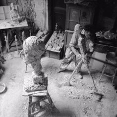 """He later writes, that """"in view of the quantity of drawings Giacometti left behind, one can well believe that his hand simply never stopped."""""""