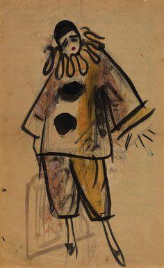 pierrot lunaire | Victor Ivanovich Ufimtsev , 1927