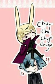 Alois & Ciel cute x3
