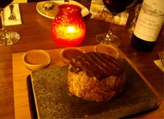 Mastersons Steakhouse and Wine Bar in Swords, Dublin. Serving some great Irish Fillet Steak by the candlelight!