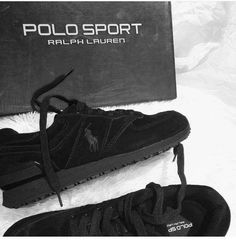 Ralph Lauren Shop, Polo Sport Ralph Lauren, All Black Sneakers, Shopping, Fashion, Moda, Fashion Styles, Fashion Illustrations