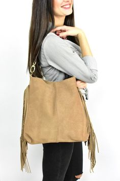 image 0 Suede Tote Bag, Tote Bags, Soft Leather, Leather Bag, Large Shoulder Bags, Handmade Bags, Hobo Bag, Bohemian, Image