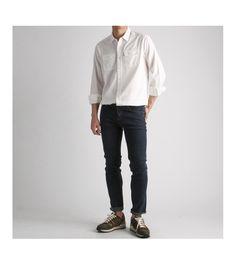 투포켓 워싱 남방 셔츠-shirt43 - [존클락]30대 남자옷쇼핑몰, 깔끔한 캐쥬얼 데일리룩, 추천코디