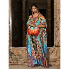 100% Silk kaftan embellished beaded beach Resort wear 144 Silk Kaftan, Two Piece Dress, Resort Wear, Designer Collection, Kimono Top, Fancy, Beach, How To Wear, Stuff To Buy