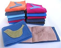 Easy Felt Needle Holders Free Tutorial and Pattern by Melissa Goodsell of One Crafty Mumma Blog