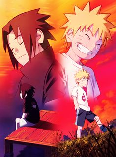 Melhores amigos (Naruto e sasuke)☆