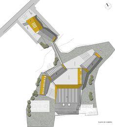 Manuel Anabalón Saez School Building,Plan