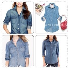The endless hunt for the perfect denim shirt???