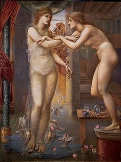 I saw this today, June 24, 2012.  Edward Burne Jones ©Birmingham Museums Trust