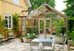 Bildresultat för växthus med sluss