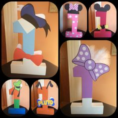Mickey mouse clubhouse characters .m by InvitesbyMela on Etsy