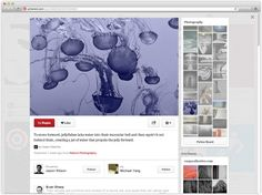 """""""Pinterest Announces Redesign, Are Sponsored Pins Coming?"""" -- Click through for a link to an application form if you want to help test the new design."""