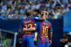 Messi double leads five-star Barca past Leganes   Madrid (AFP)  Lionel Messi Luis Suarez and Neymar were all on target as Barcelona got back to winning ways in La Liga with a 5-1 thrashing at newly promoted Leganes on Saturday.  Barca suffered a shock 2-1 home defeat to Alaves last weekend but despite a bright start from the hosts there was to be no repeat of that upset once Suarez teed up Messi to open the scoring after 15 minutes.  Suarez and Neymar tapped home to give Barca a healthy…