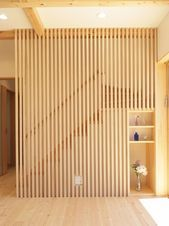 dreamy partition apartment design ideas you must have - page 1 ~ Modern House Design Wood Interior Design, Interior Stairs, Modern Stairs, Stair Railing, Railing Ideas, House Stairs, Wood Stairs, Stair Storage, Wood Interiors