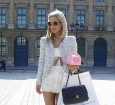 Ulrikke Lund with Chanel Bag