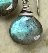 I've had some folks on Etsy ask me to write a tutorial on how to wire wrap a briolette. So I finally got around to it. Remember, this is the...