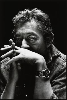 Serge Gainsbourg.  French singer, songwriter, pianist, film composer, poet, painter, screenwriter, writer, actor and director.  Father of Charlotte Gainsbourg.