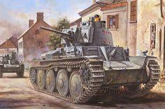 Model Hobby Boss 80141 German tank Pz.Kpfw. 38(t) Ausf.B