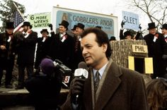 TIL Bill Murray hired an assistant who 'was profoundly deaf and spoke only in sign language' to make communication as difficult as possible between him the director and the studio during the filming of 'Groundhog Day' Travel Movies, Time Travel, Groundhog Day Movie, Good Comedy Movies, Dallas Buyers Club, Edge Of Tomorrow, Dog Day Afternoon, Cinema, Bill Murray
