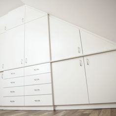 Garderoba pod skosem Bytom | Studio meblowe BESI Attic Rooms, Dresser, Furniture, Home Decor, Website, Tips, Bedroom, Closet, Powder Room