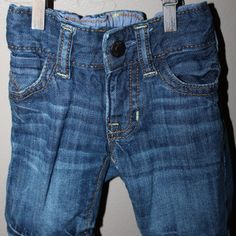 Distressed jeans, 0-3 months