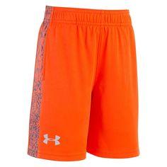 Boys 4-7 Under Armour Code Printed Shorts, Size: 6, Orange Oth