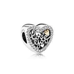 PANDORA | Love Script charm #jewelry #Pandora #ValentinesDay