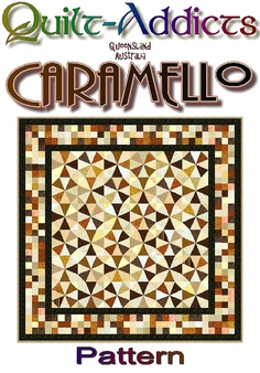 CARAMELLO++QuiltAddicts+Patchwork+Quilt+by+quiltaddictspatterns,+$10.00