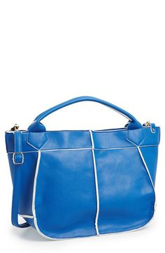 POVERTY FLATS by rian 'Large Soft' Faux Leather Tote available at #Nordstrom