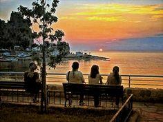 Amasra Küçük Liman'dan Gün Batımı...