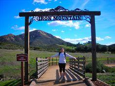 Iron Mountain is a great hike outside San Diego, #sandiego
