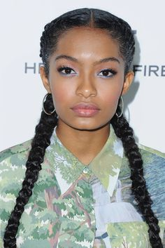 Yara Shahidi - 33 Celebrity Braided Hairstyles That Left Us Googly Eyed In 2016