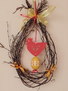 Easter Tree, Easter Wreaths, Easter Eggs, Easter Crafts, Fun Crafts, Diy And Crafts, Spring Crafts For Kids, Diy Easter Decorations, Holidays And Events
