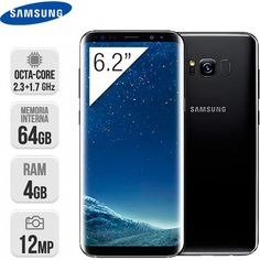 Smartphone Samsung Galaxy S8 Plus 64GB Negro https://www.intertienda.es/tienda/moviles/smartphone-samsung-galaxy-s8-plus-64gb-negro/