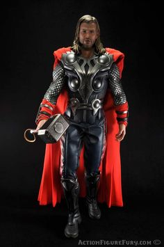 Hot Toys Avengers Thor Sixth Scale Figure walking .... holy ...