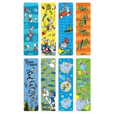 Picture of Dr. Seuss Bookmark
